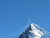 Eiger mit Patroullie Suisse